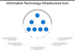 Information Technology Infrastructure Icon