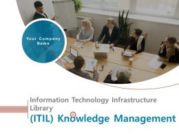 Information Technology Infrastructure Library ITIL Knowledge Management Complete Deck