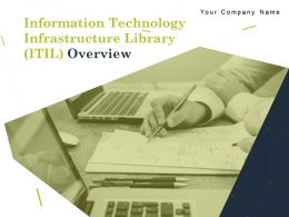 Information Technology Infrastructure Library ITIL Overview Powerpoint Presentation Slides