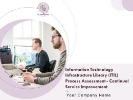 Information Technology Infrastructure Library ITIL Process Assessment Continual Service Improvement Complete Deck