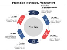 Information Technology Management Ppt Powerpoint Presentation File Elements Cpb