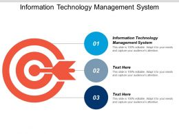 Information Technology Management System Ppt Powerpoint Presentation Infographic Template Gridlines Cpb