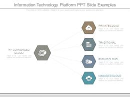 Information Technology Platform Ppt Slide Examples