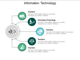 Information Technology Ppt Powerpoint Presentation Inspiration Display Cpb