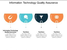 Information Technology Quality Assurance Ppt Powerpoint Presentation Styles Cpb