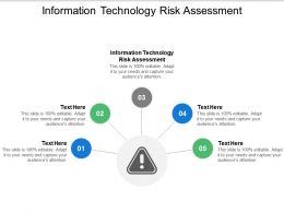 Information Technology Risk Assessment Ppt Powerpoint Presentation Professional Graphic Images Cpb