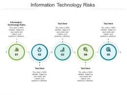 Information Technology Risks Ppt Powerpoint Presentation Elements Cpb