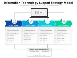 Information Technology Support Strategy Model