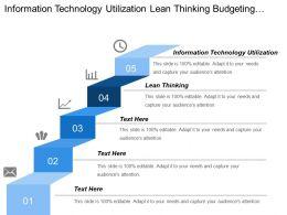 Information Technology Utilization Lean Thinking Budgeting Cash Flow Management