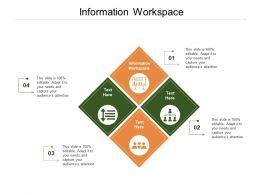 Information Workspace Ppt Powerpoint Presentation Ideas Background Cpb