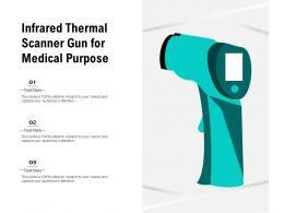 Infrared Thermal Scanner Gun For Medical Purpose