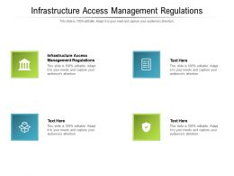 Infrastructure Access Management Regulations Ppt Powerpoint Presentation Styles Graphic Tips Cpb
