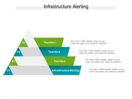 Infrastructure Alerting Ppt Powerpoint Presentation File Guidelines Cpb