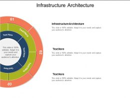 Infrastructure Architecture Ppt Powerpoint Presentation File Templates Cpb