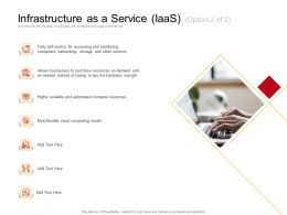Infrastructure As A Service IaaS M2717 Ppt Powerpoint Presentation Icon Example File
