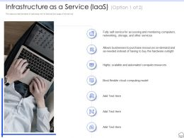 Infrastructure As A Service R562 Ppt Powerpoint Presentation Images