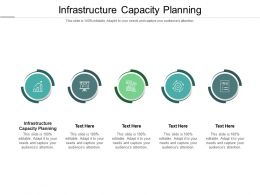Infrastructure Capacity Planning Ppt Powerpoint Presentation Ideas Vector Cpb