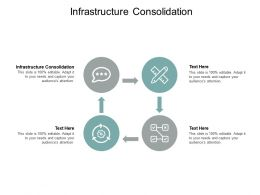 Infrastructure Consolidation Ppt Powerpoint Presentation Model Gallery Cpb