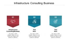 Infrastructure Consulting Business Ppt Powerpoint Presentation File Show Cpb