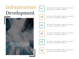 Infrastructure Development Ppt Slides Download