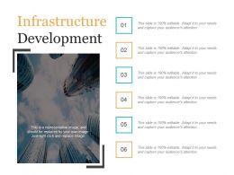 Infrastructure Development Ppt Slides Download