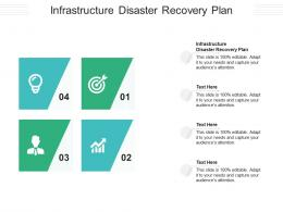 Infrastructure Disaster Recovery Plan Ppt Powerpoint Presentation Professional Ideas Cpb