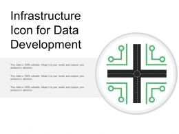 Infrastructure Icon For Data Development