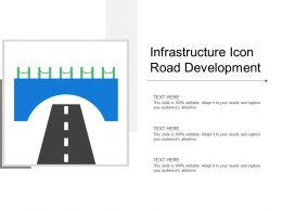 Infrastructure Icon Road Development