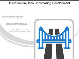 Infrastructure Icon Showcasing Development
