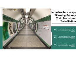 Infrastructure Image Showing Subway Train Transits Or Train Station