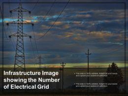 Infrastructure Image Showing The Number Of Electrical Grid