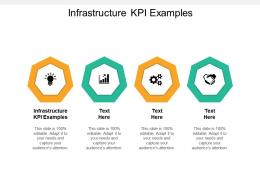 Infrastructure KPI Examples Ppt Powerpoint Presentation Infographics Show Cpb