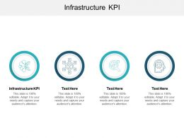 Infrastructure Kpi Ppt Powerpoint Presentation File Portrait Cpb