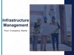 Infrastructure Management Powerpoint Presentation Slides