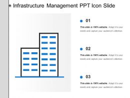 Infrastructure Management Ppt Icon Slide