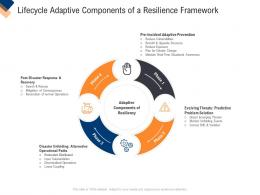 Infrastructure Management Service Lifecycle Adaptive Components Of A Resilience Framework Ppt Ideas