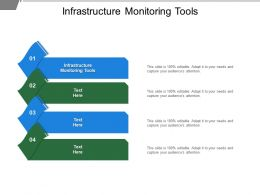 Infrastructure Monitoring Tools Ppt Powerpoint Presentation Gallery Show Cpb