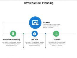 Infrastructure Planning Ppt Powerpoint Presentation Portfolio Clipart Cpb