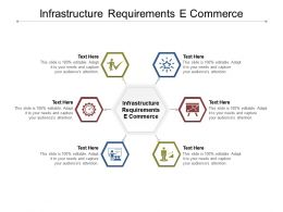 Infrastructure Requirements E Commerce Ppt Powerpoint Presentation Portfolio Examples Cpb