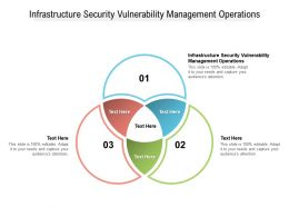Infrastructure Security Vulnerability Management Operations Ppt Powerpoint Presentation Cpb