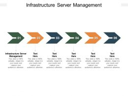 Infrastructure Server Management Ppt Powerpoint Presentation Layouts Visuals Cpb