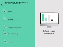 Infrastructure Services N588 Ppt Powerpoint Presentation File