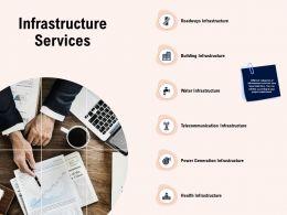 Infrastructure Services Roadways Ppt Powerpoint Presentation Gallery Summary