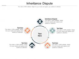 Inheritance Dispute Ppt Powerpoint Presentation Infographics Sample Cpb