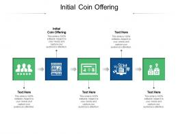 Initial Coin Offering Ppt Powerpoint Presentation Professional Infographics Cpb