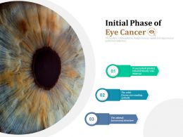 Initial Phase Of Eye Cancer