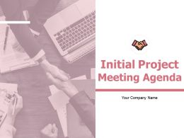 Initial Project Meeting Agenda Powerpoint Presentation Slides