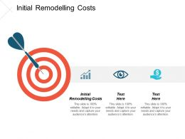 Initial Remodelling Costs Ppt Powerpoint Presentation Gallery Gridlines Cpb