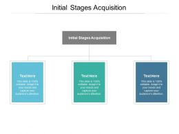 Initial Stages Acquisition Ppt Powerpoint Presentation Outline Portrait Cpb