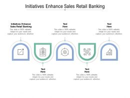 Initiatives Enhance Sales Retail Banking Ppt Powerpoint Presentation Show Graphics Pictures Cpb